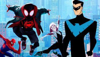 Fan art de Nightwing y Spider-Man