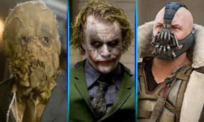 similitudes de los villanos de The Dark Knight