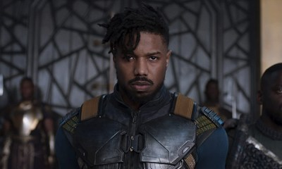 Aspecto original de Killmonger en 'Black Panther'