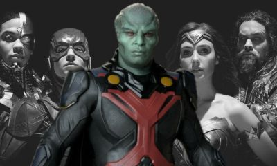 Martian Manhunter en la versión de Snyder de Justice league