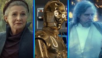 El papel de C-3PO fue recortado