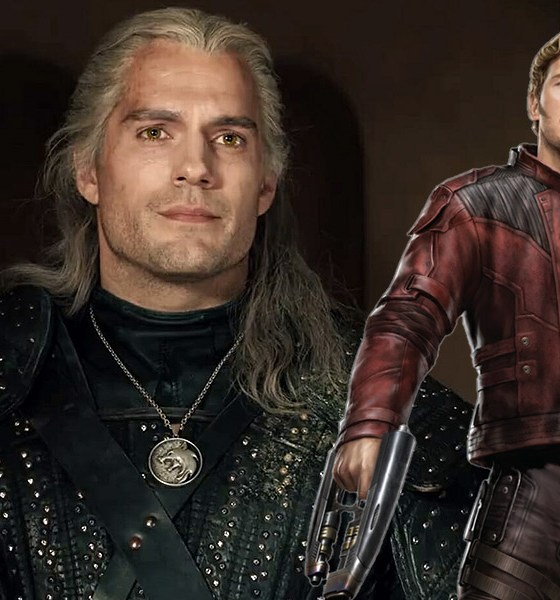 The Witcher recreó una escena de Guardians of the Galaxy