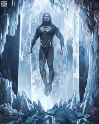So how will convict Henry Cavill? Launch the new image of Superman's black in the DCEU 96380058_2673692622904350_5830585941268609714_n-400x500