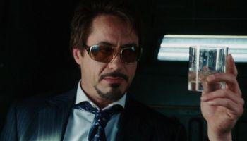 alcoholismo de Tony Stark en el MCU