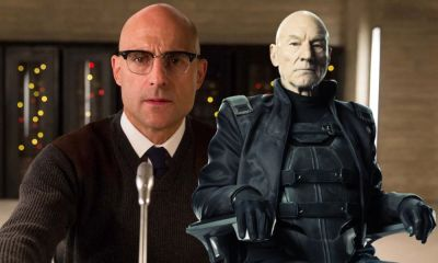 Fan art de Mark Strong como Professor X