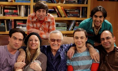 referencia a Jack Kirby en The Big Bang Theory