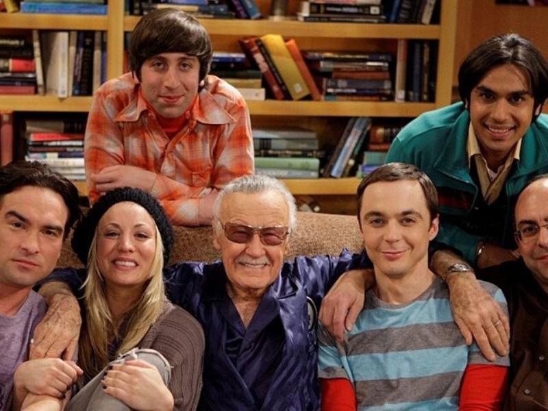 referencia a Jack Kirby en The Big Bang Theory