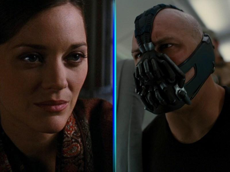 Bane y Miranda Tate tenían las mismas cicatrices