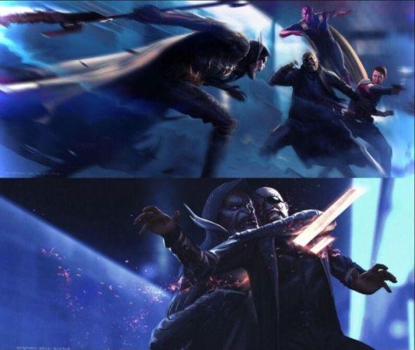 Nick Fury iba a perder la vida en 'Infinity War' y esta imagen lo demuestra nick-fury-infinity-war-593x500
