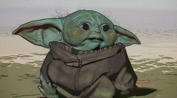 ¡Era aterrador! Revelan el primer diseño de Baby Yoda para 'The Mandalorian' primer-diseno-de-baby-yoda-4-600x332