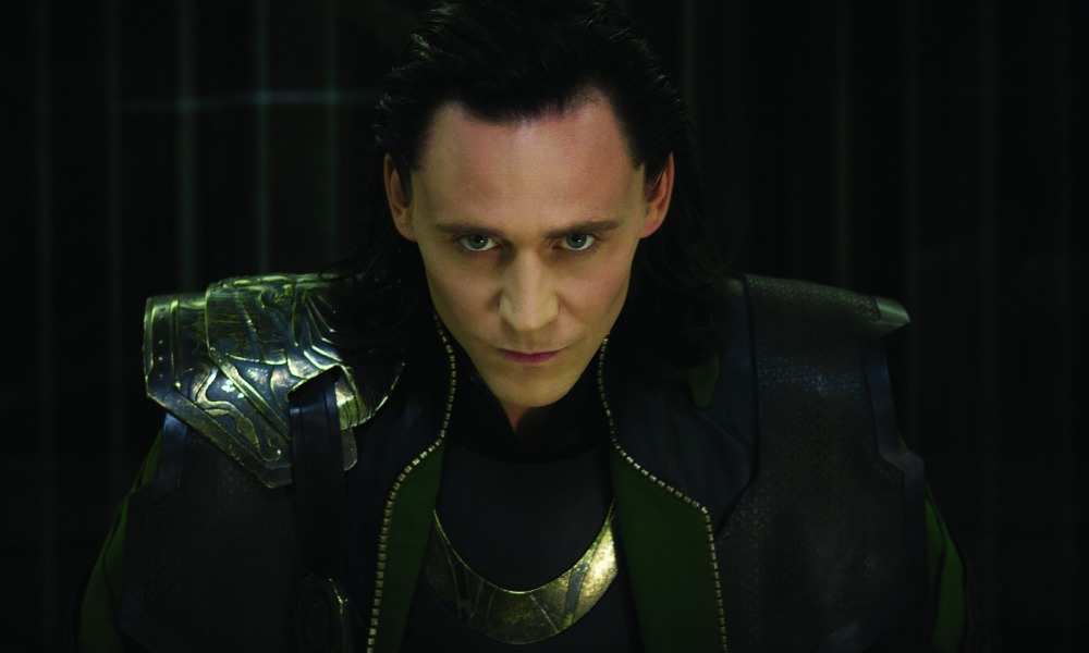 Arte conceptual del traje de batalla de Loki