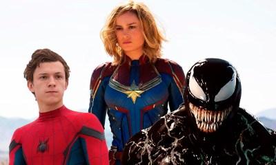 Captain Marvel estaría enamorada de Spider-Man y Venom