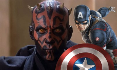 Captain America contra Darth Maul