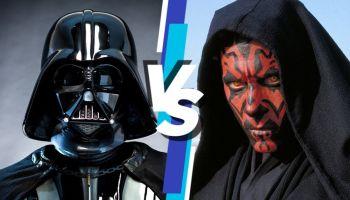 Darth Vader vs Darth Maul