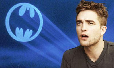 fan art de Robert Pattinson y Michael Keaton