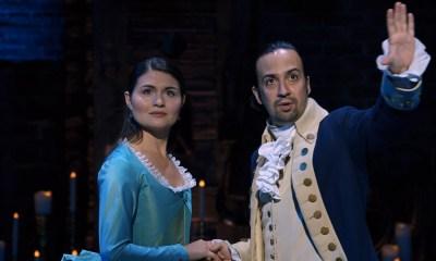 Lin Manuel Miranda habló del estreno de 'Hamilton' al cine