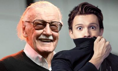 primer encuentro de Tom Holland con Stan Lee