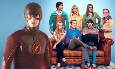 referencias conectan a The Flash con The Big Bang Theory (2)