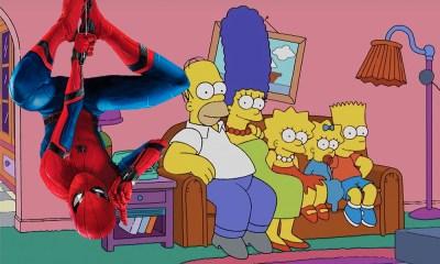 'The Simpsons' existen en el universo de Spider-Man