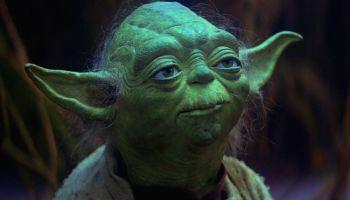 yoda en 'The Empire Strikes Back'