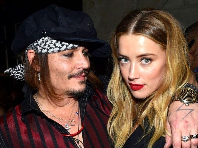 Amber Heard admitió que golpeó a Johnny Depp