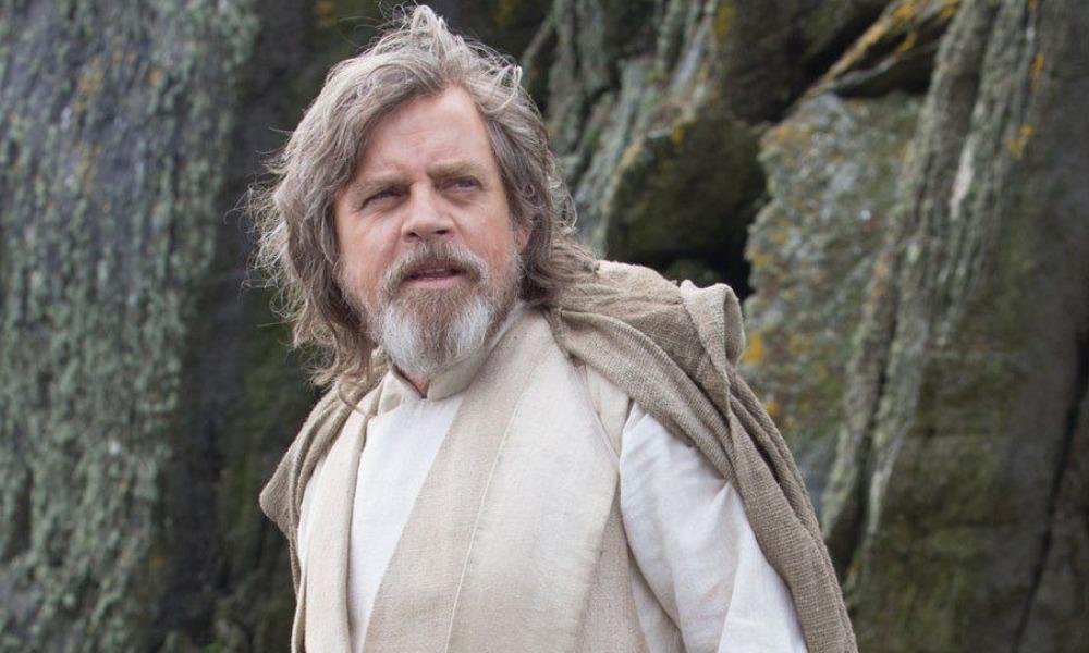 Arte conceptual de Luke Skywalker en 'The Force Awakens'