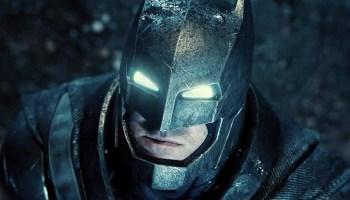 Fan póster de la película de Batman de Ben Affleck