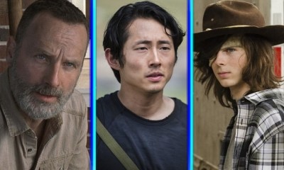 cameo de Glenn en la temporada once de 'The Walking Dead'
