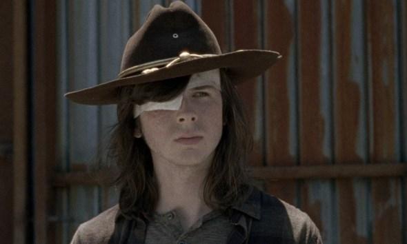 Edad de Carl Grimes cuando murió en 'The Walking Dead'