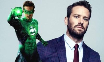 fan art de Armie Hammer como Green Lantern