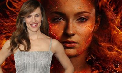 fan art de Jennifer Garner como Jean Grey