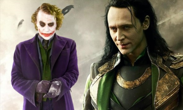 fan art de Tom Hiddleston como Joker