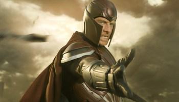 Fan-art de Giancarlo Esposito como Magneto