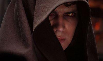 ojos de Anakin en Revenge of the Sith