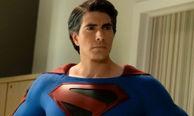 póster de Brandon Routh con el traje de Kingdom Come
