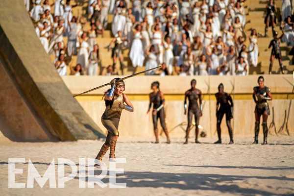 ¿Diana a los juegos olímpicos? Revelan nuevas imágenes de 'Wonder Woman 1984' wonder-woman-1984-amazon-olympics-600x400