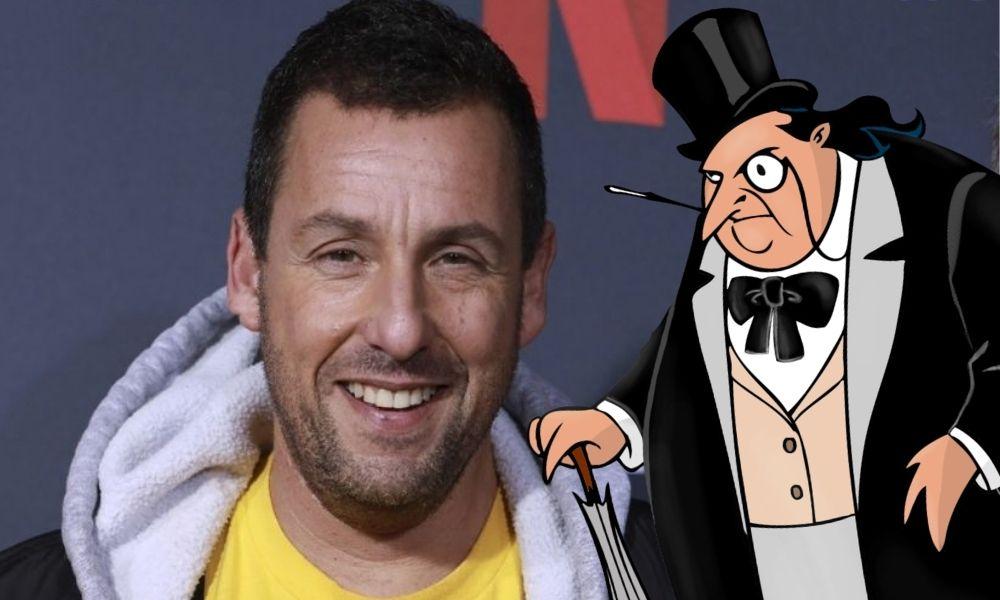 Adam Sandler podría ser Penguin