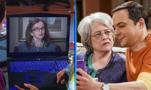 La mamá de Amy de 'The Big Bang Theory' fue interpretada por dos actrices y nadie lo notó dos-actrices-interpretaron-a-la-mama-amy-600x360