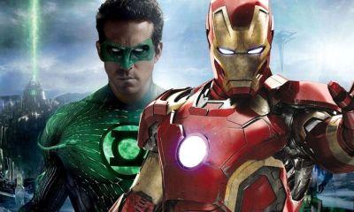 fan art de Green Lantern y los Avengers