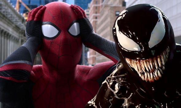 Fan art de Spider-Man y Venom