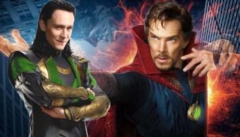 fan póster de Doctor Strange 2 con Loki