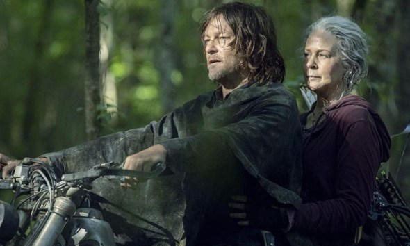 gasolina es un error en 'The Walking Dead'
