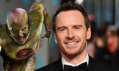 Michael Fassbender como Reverse Flash