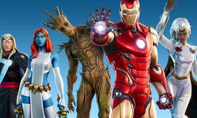 Spider-Man y Black Panther en Fortnite