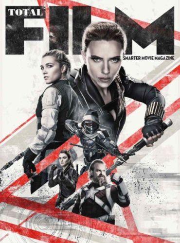 ¿Si llegará en noviembre? Marvel dio nuevas pistas sobre el estreno de 'Black Widow' black-widow-total-film-cover-marvel-1236877-370x500