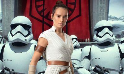 Concept Art de Rey contra Stormtroopers