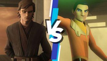 cuál es mejor Clone Wars o Rebels