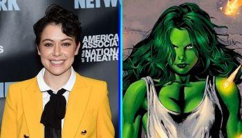 Fan-art de Tatiana Maslany como She-Hulk