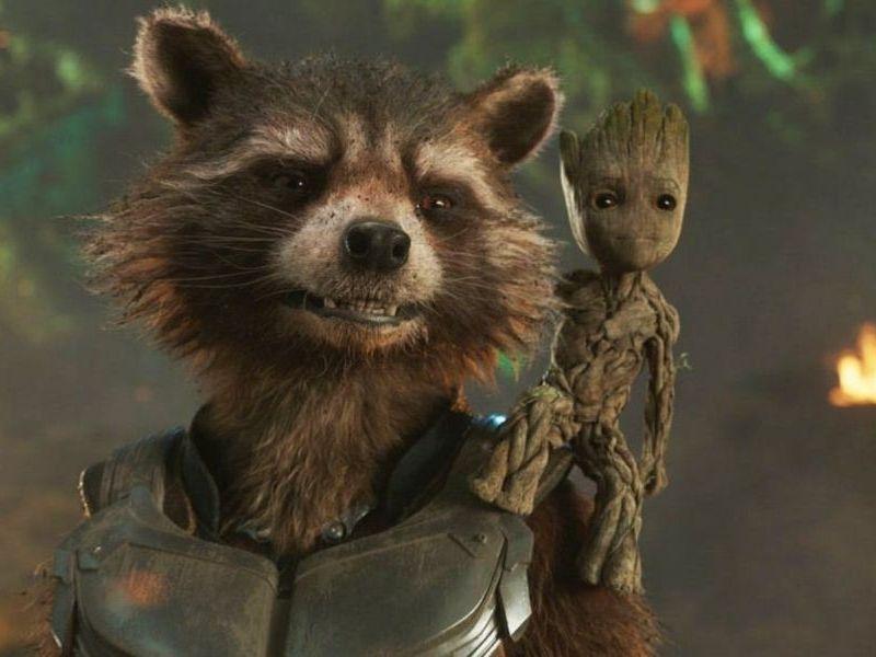 historia de la amistad entre Rocket y Groot