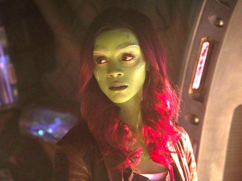 Infinity War contradijo el origen de Gamora